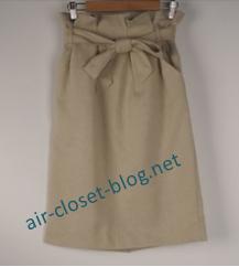 (エアークローゼット初回セットのタイトスカート