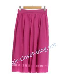 aircloset2回目に届いたノーリーズのスカート