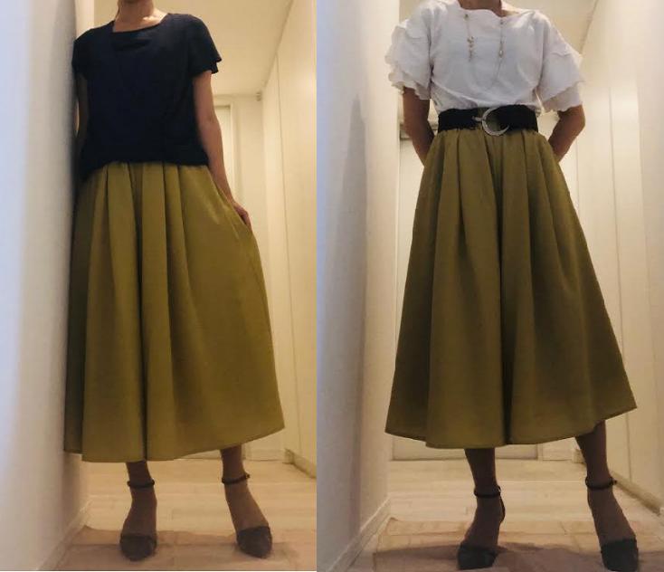 エアークローゼット-40代女性の4回目のコーデを着てみた